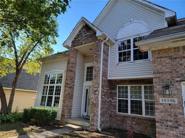 10596 Greenway Drive, Fishers, IN 46037 (MLS #21796408) :: The Evelo Team