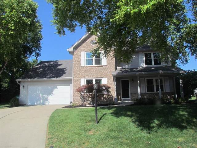 17917 Amberwood Court, Westfield, IN 46074 (MLS #21801833) :: The Evelo Team