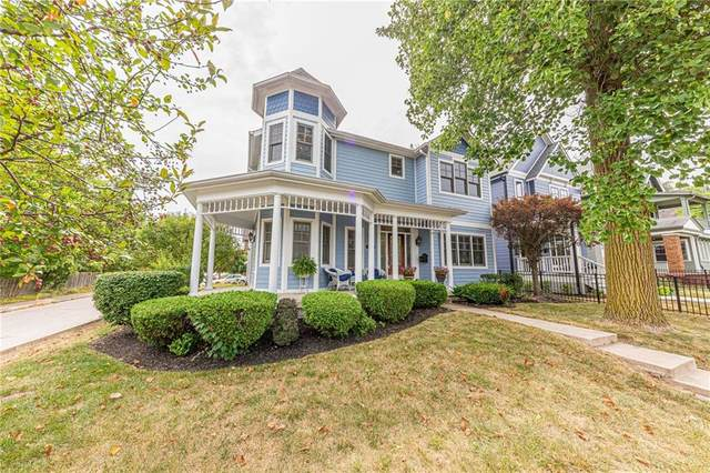 2065 N Alabama Street, Indianapolis, IN 46202 (MLS #21802940) :: The Evelo Team