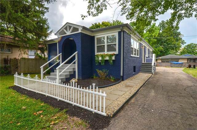5621 E 16TH Street, Indianapolis, IN 46218 (MLS #21803831) :: Mike Price Realty Team - RE/MAX Centerstone