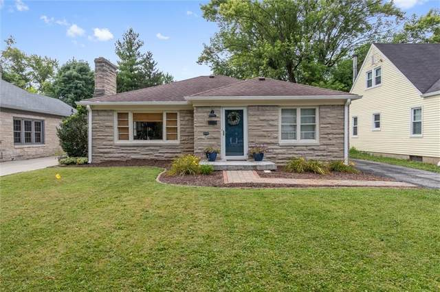 1715 Kessler Blvd E Drive E, Indianapolis, IN 46220 (MLS #21808868) :: Mike Price Realty Team - RE/MAX Centerstone