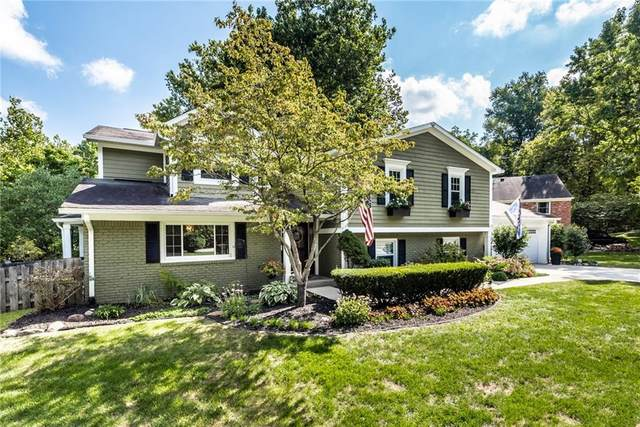 7969 Ferrell Lane, Indianapolis, IN 46260 (MLS #21811562) :: Mike Price Realty Team - RE/MAX Centerstone