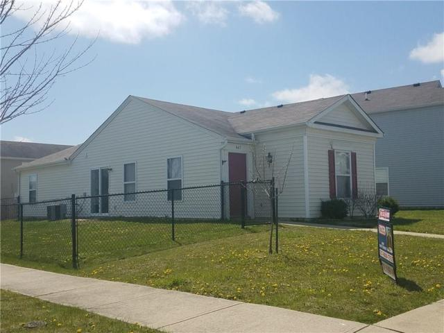 847 Brookshire Drive, Franklin, IN 46131 (MLS #21555178) :: The Evelo Team