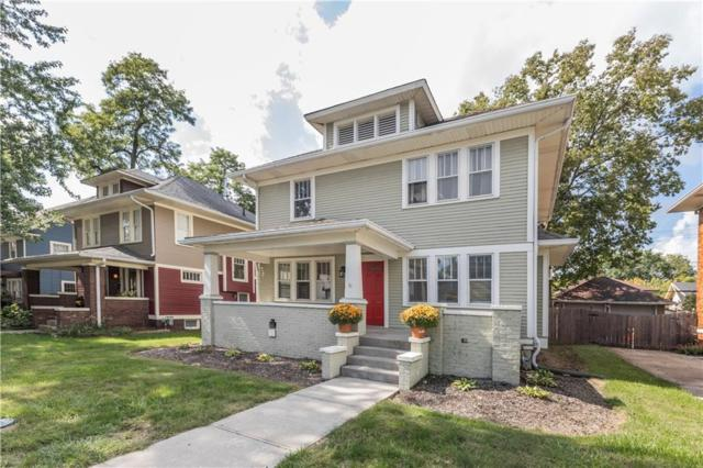 3950 N Broadway Street, Indianapolis, IN 46205 (MLS #21575292) :: Mike Price Realty Team - RE/MAX Centerstone