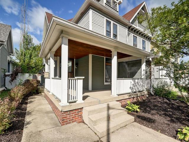 1846 N Delaware Street #2, Indianapolis, IN 46202 (MLS #21598004) :: Mike Price Realty Team - RE/MAX Centerstone