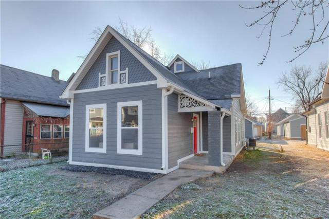 723 E Minnesota Street, Indianapolis, IN 46203 (MLS #21610403) :: The ORR Home Selling Team