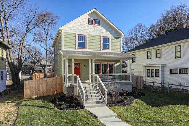 1123 N Keystone Avenue, Indianapolis, IN 46201 (MLS #21667417) :: The Indy Property Source