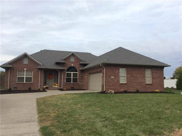 3458 S Applegate Drive, New Palestine, IN 46163 (MLS #21676528) :: The Indy Property Source