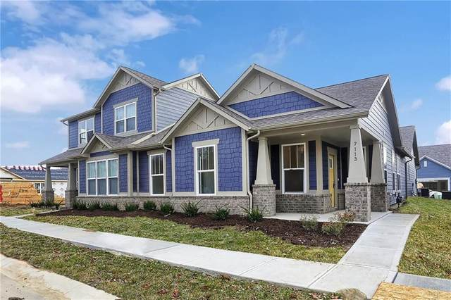7113 Antiquity Drive, Carmel, IN 46033 (MLS #21686299) :: The Indy Property Source