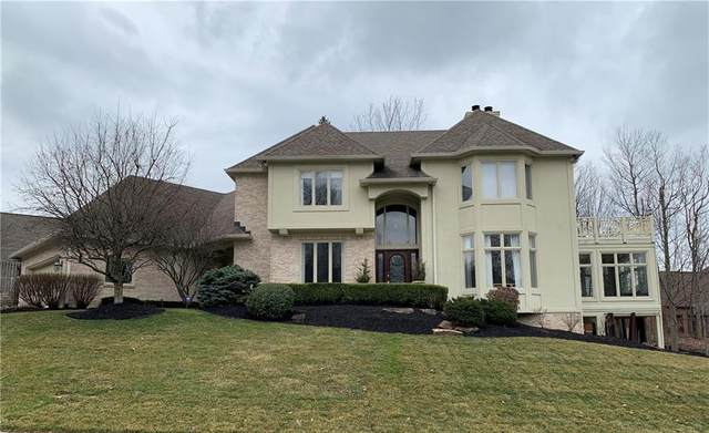 8202 Hunters Place, Indianapolis, IN 46236 (MLS #21695209) :: The Evelo Team