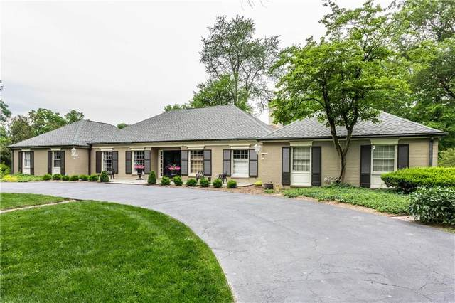 9590 Copley Drive, Indianapolis, IN 46260 (MLS #21699476) :: AR/haus Group Realty