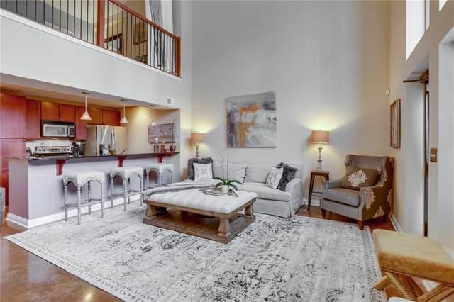 350 N Meridian Street A103, Indianapolis, IN 46204 (MLS #21699983) :: Heard Real Estate Team   eXp Realty, LLC