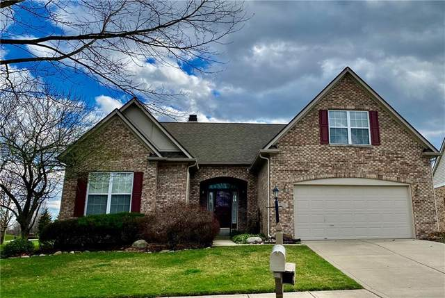 6001 Sandalwood Drive, Carmel, IN 46033 (MLS #21703552) :: The Indy Property Source
