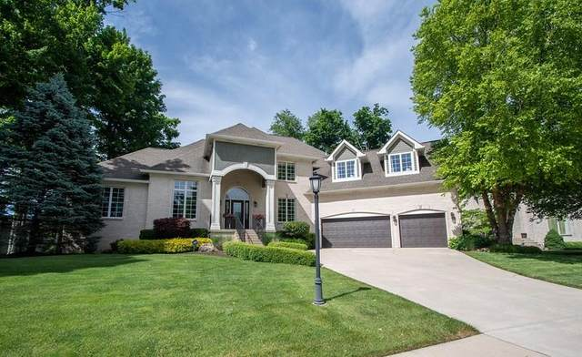 14676 Geist Ridge Drive, Fishers, IN 46040 (MLS #21716656) :: Anthony Robinson & AMR Real Estate Group LLC