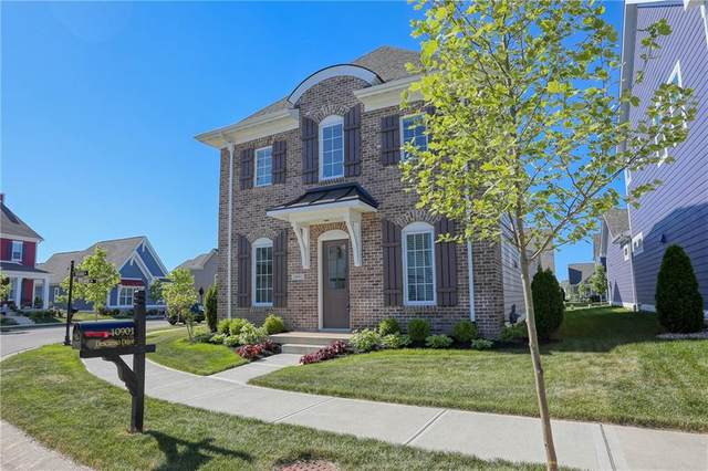 10901 Descanso Drive, Fishers, IN 46038 (MLS #21716815) :: Anthony Robinson & AMR Real Estate Group LLC