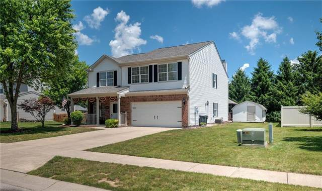 5965 Pennekamp Court, Plainfield, IN 46168 (MLS #21720825) :: The Indy Property Source