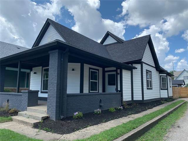 1222 E New York Street, Indianapolis, IN 46202 (MLS #21722341) :: Realty ONE Group Dream