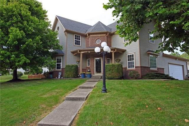 455 Primrose Lane, Avon, IN 46123 (MLS #21732056) :: David Brenton's Team