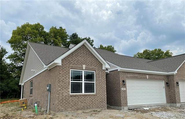 1027 Stallion Court, Indianapolis, IN 46260 (MLS #21788729) :: Dean Wagner Realtors