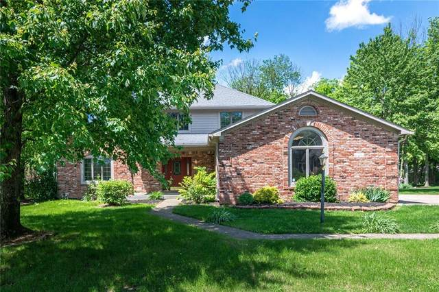 11842 Old Stone Drive, Indianapolis, IN 46236 (MLS #21706034) :: The Indy Property Source