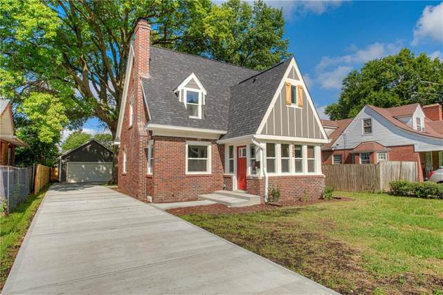 3922 Carrollton Avenue, Indianapolis, IN 46205 (MLS #21721636) :: The Evelo Team