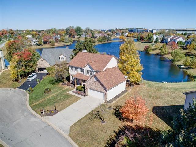 7322 Appaloosa Way, Indianapolis, IN 46278 (MLS #21736489) :: The ORR Home Selling Team