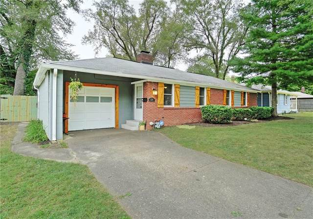 1234 Rowin Road, Indianapolis, IN 46220 (MLS #21739358) :: The ORR Home Selling Team