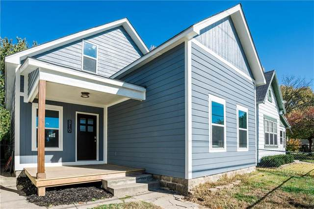 310 E Lincoln Street, Indianapolis, IN 46225 (MLS #21750190) :: AR/haus Group Realty