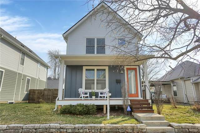 1321 Marlowe Avenue, Indianapolis, IN 46202 (MLS #21762581) :: The Indy Property Source