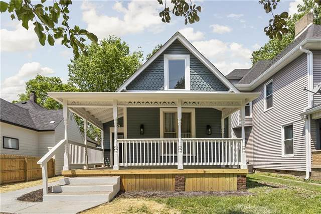 1106 Newman Street, Indianapolis, IN 46201 (MLS #21786858) :: Pennington Realty Team