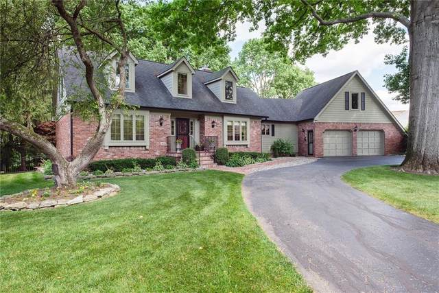 615 Mulberry Street, Zionsville, IN 46077 (MLS #21792014) :: Anthony Robinson & AMR Real Estate Group LLC