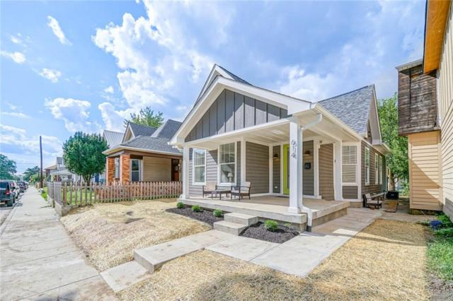 614 Terrace Avenue, Indianapolis, IN 46203 (MLS #21591393) :: The Evelo Team