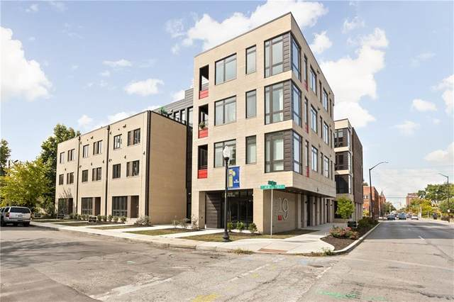 319 E 16th Street #308, Indianapolis, IN 46202 (MLS #21596442) :: The Evelo Team