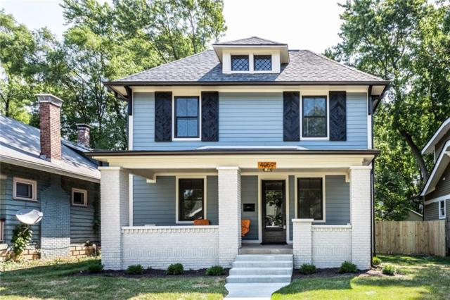 4059 N Park Avenue, Indianapolis, IN 46205 (MLS #21647143) :: The Indy Property Source