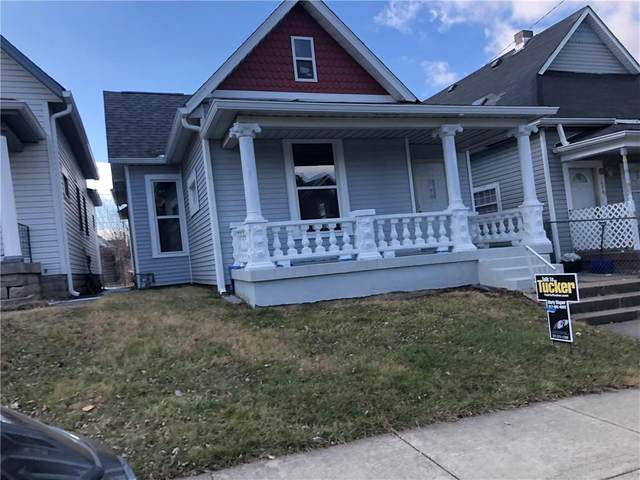 1646 S Delaware Street, Indianapolis, IN 46225 (MLS #21685744) :: RE/MAX Legacy