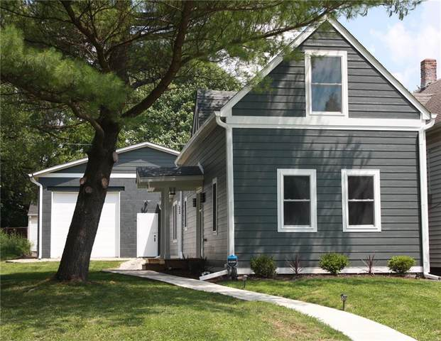1521 Ringgold Avenue, Indianapolis, IN 46203 (MLS #21788917) :: Richwine Elite Group