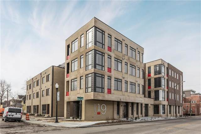 319 E 16th Street #401, Indianapolis, IN 46202 (MLS #21467832) :: The Indy Property Source