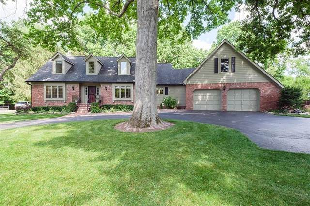 615 Mulberry Street, Zionsville, IN 46077 (MLS #21792014) :: Mike Price Realty Team - RE/MAX Centerstone