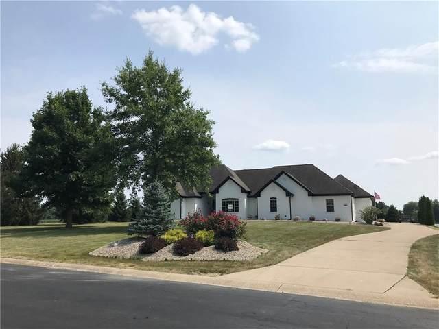 1715 E Twin Oak Boulevard E, Greenfield, IN 46140 (MLS #21799235) :: Pennington Realty Team