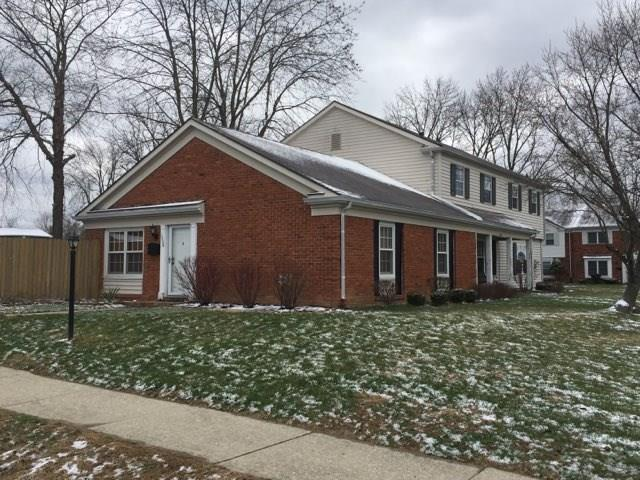 1608 Marborough Lane, Indianapolis, IN 46260 (MLS #21548266) :: The ORR Home Selling Team