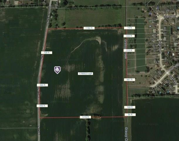 0 N 75 W Road, Whiteland, IN 46184 (MLS #21549604) :: The Indy Property Source