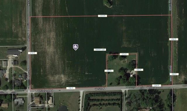 0 W W 500 N Road N, Whiteland, IN 46184 (MLS #21549714) :: The Indy Property Source