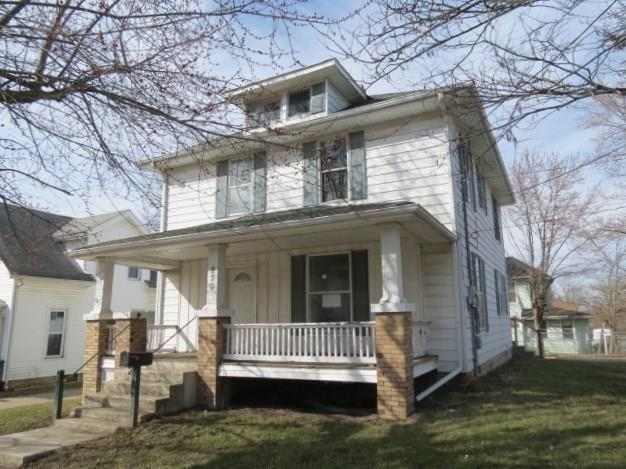 930 New York Avenue, New Castle, IN 47362 (MLS #21554091) :: The ORR Home Selling Team