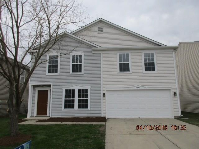 2343 Blackthorn Drive, Franklin, IN 46131 (MLS #21557440) :: The Evelo Team
