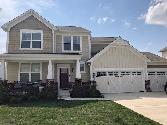 13094 Knights Way, Fishers, IN 46038 (MLS #21566628) :: RE/MAX Ability Plus