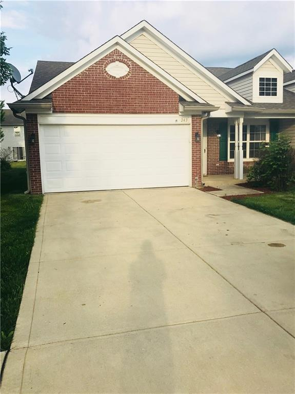243 Rapid Rill Lane, Brownsburg, IN 46112 (MLS #21567112) :: RE/MAX Ability Plus