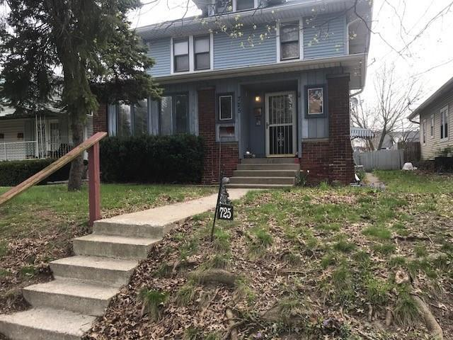 725 N Bancroft Street, Indianapolis, IN 46201 (MLS #21571593) :: Indy Scene Real Estate Team