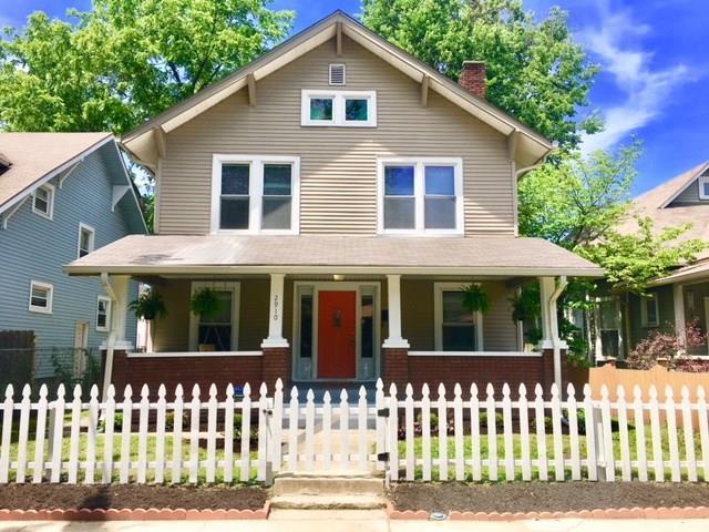 2910 N Delaware Street, Indianapolis, IN 46205 (MLS #21576127) :: Indy Scene Real Estate Team