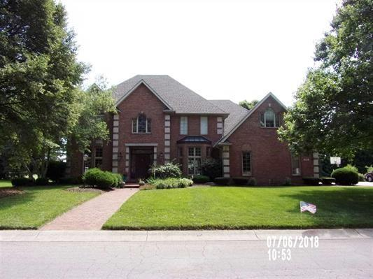 508 S Turnberry Lane, Yorktown, IN 47396 (MLS #21579370) :: The ORR Home Selling Team