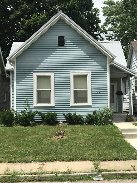 434 Parkway Avenue, Indianapolis, IN 46225 (MLS #21583251) :: Heard Real Estate Team